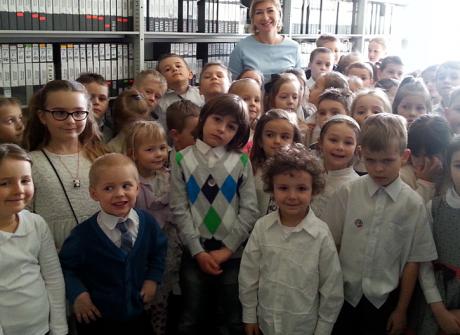 Wizyta Przedszkola Miejskiego nr 5 z Łańcuta