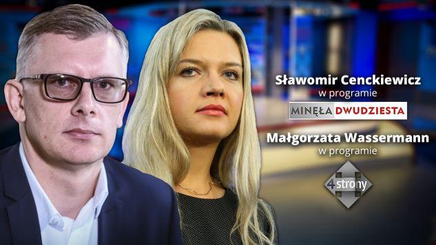 """Gościem programu """"Minęła dwudziesta"""" będzie Sławomir Cenckiewicz (fot. graf.tvp.info)"""
