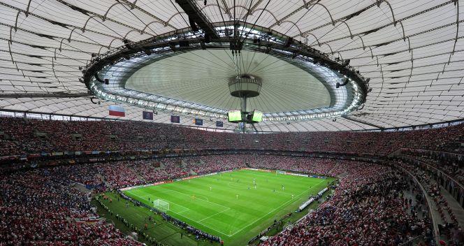 Stadion Narodowy prezentował się imponująco (fot. Getty Images)