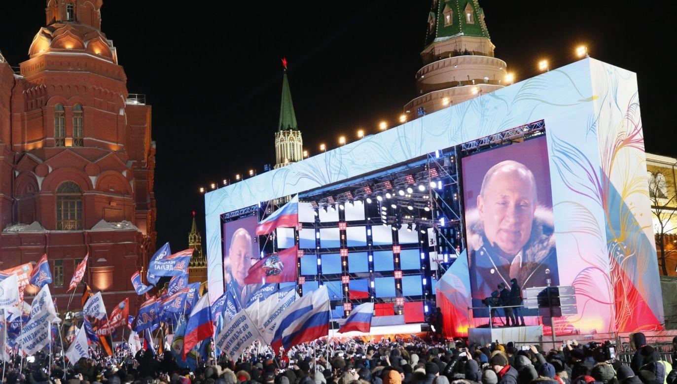 Krym został zaanektowany przez Rosję w marcu 2014 r. (fot. EPA/MAXIM SHIPENKOV)