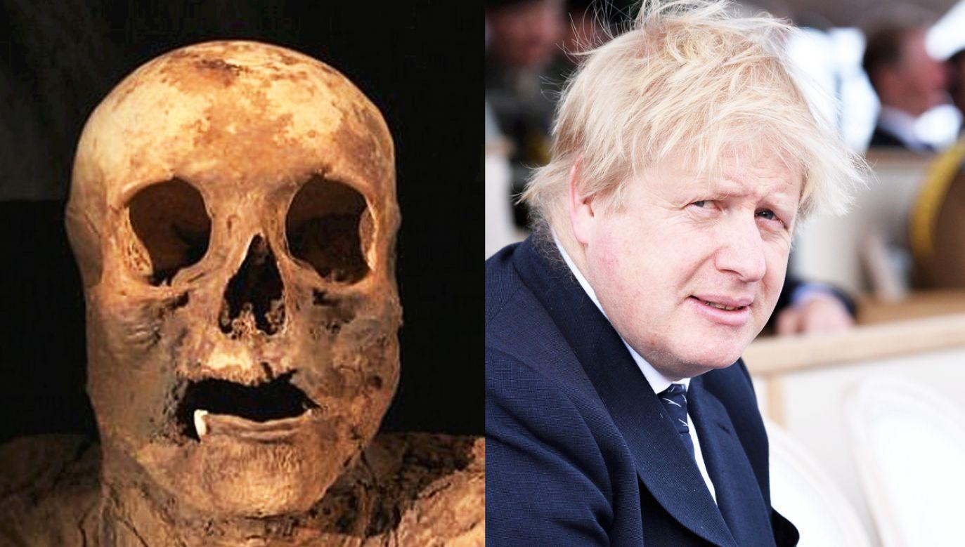 Okazało się, że kobieta jest prapraprapraprapraprababcią szefa dyplomacji W.Brytanii Johnsona (fot. SRF/ Jeff Spicer/Getty Images)