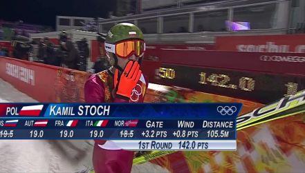 Retro igrzyska: pierwszy skok Stocha na skoczni normalnej w Soczi