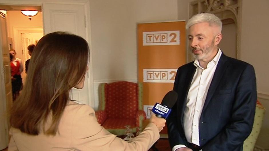 Maciej Stanecki, Członek Zarządu TVP S.A. (fot. TVP3 Kraków)