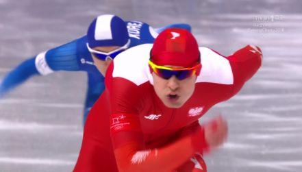 Przejazd olimpijski na 1000 metrów Sebastiana Kłosińskiego