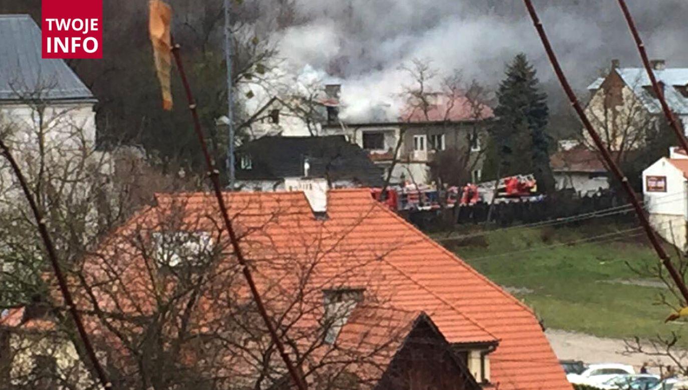 W pożarze domu nikt nie ucierpiał (fot. Twoje Info)