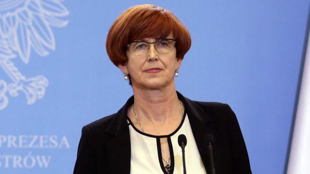 Gościem programu była Elżbieta Rafalska (fot. PAP/Tomasz Gzell)