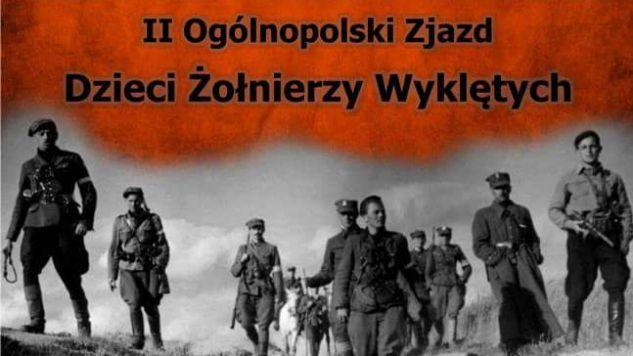 Potomkowie Żołnierze Niezłomnych spotkali się w Bychawie koło Lublina (fot.Twitter)