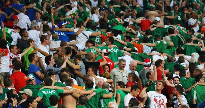 Kibice Irlandii bawili się znakomicie (fot. Getty Images)