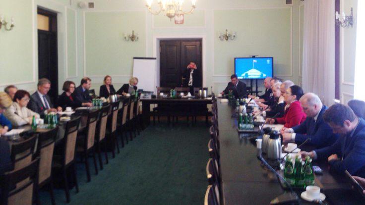 Delegacja PE w Sejmie o efektywności funduszy UE w Polsce (fot. Twitter/Parlament Europejski)