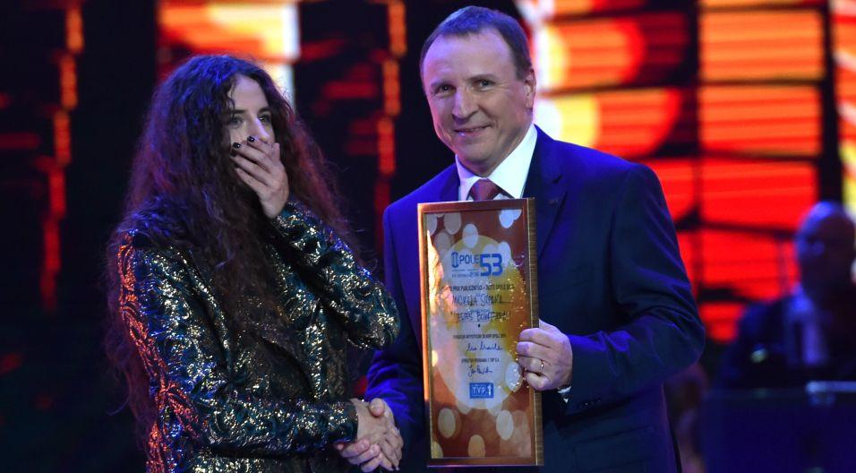 Grand Prix publiczności otrzymał w tym roku Michał Szpak!