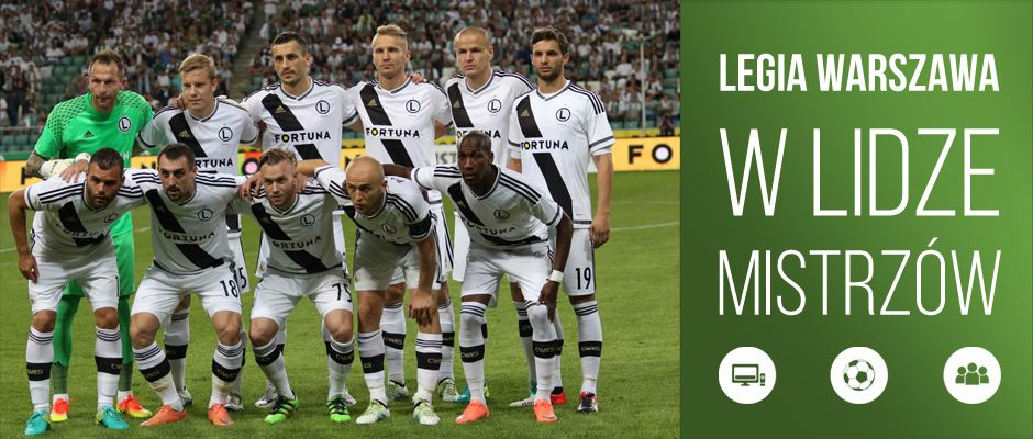 Legia Warszawa w Lidze Mistrzów
