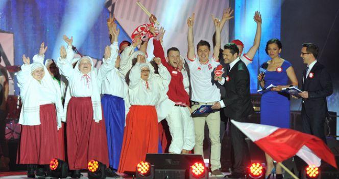 Radość po wygranej (fot. TVP/Jan Bogacz)
