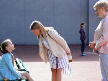 Małecka staje przed trudnym zadaniem, jak wytłumaczyć córce zagrożenia płynące z internetu? (fot. A. Grochowska)