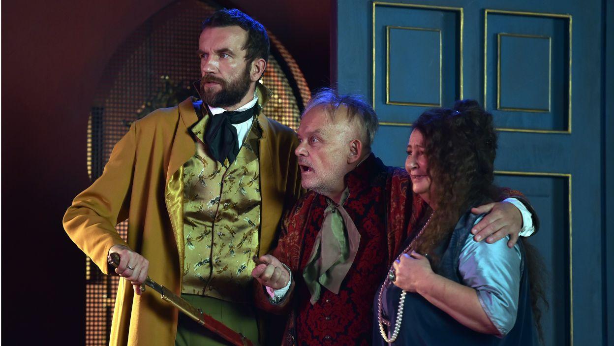 Spektakl daje możliwość stworzenia niezwykłych kreacji aktorskich, dlatego od XIX wieku grali w nim najwybitniejsi aktorzy swoich czasów (fot. I. Sobieszczuk/TVP)