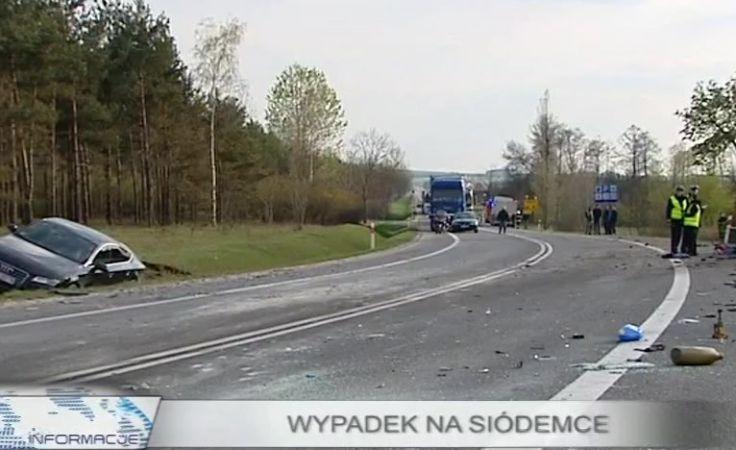 Tragiczny wypadek na krajowej