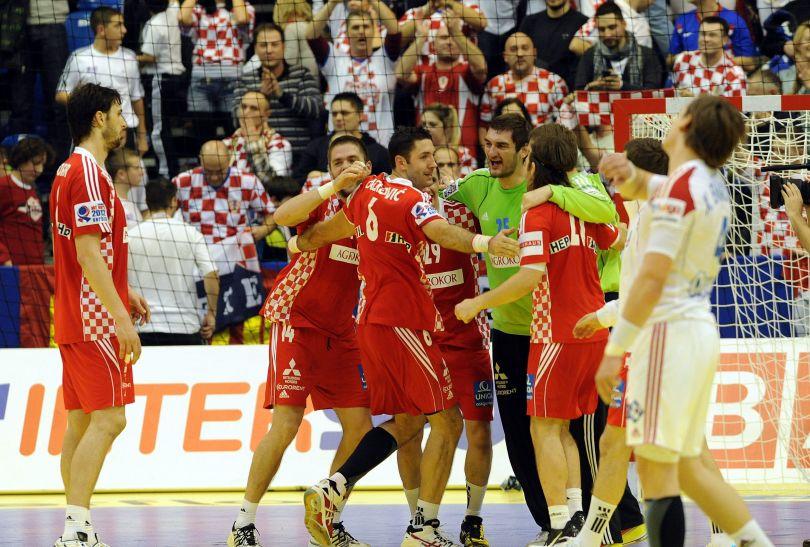 Chorwaci są bardzo blisko gry o medale (fot.PAP/EPA)