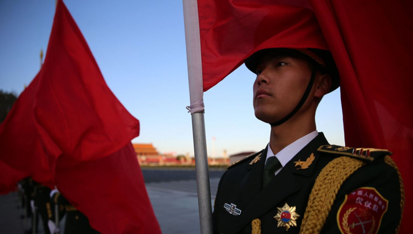 Delegacji przewodzi szef wydziału międzynarodowego Komitetu Centralnego Komunistycznej Partii Chin (fot. PAP/EPA/WU HONG)