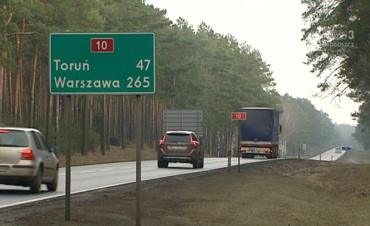 Trasa S10 ma połączyć Bydgoszcz i Toruń