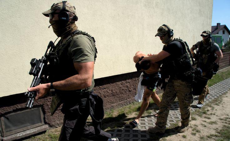 Porwanie i wymuszenie rozbójnicze w Sępólnie Krajeńskim