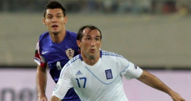 Z Grecją Chorwaci zremisowali u siebie 0:0, a na wyjeździe przegrali 0:2 (fot. Getty Images)