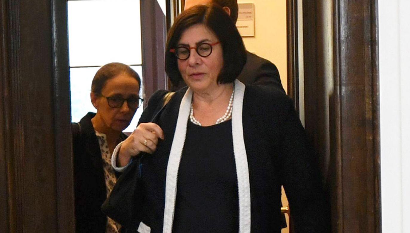 Ambasador Izraela Anna Azari   (fot. arch. PAP/Bartłomiej Zborowski)