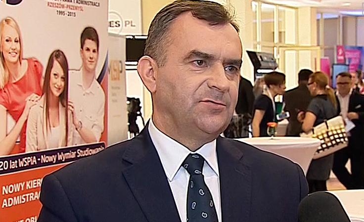 Minister skarbu Włodzimierz Karpiński o sukcesach prywatyzacji