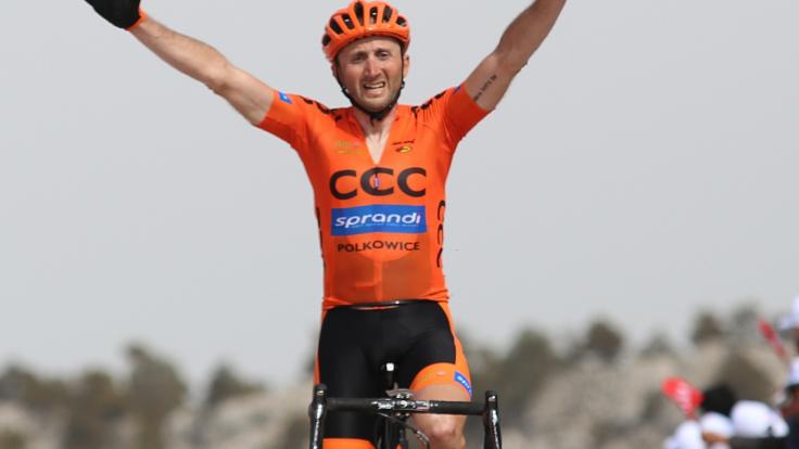 Davide Rebellin jeszcze w barwach CCC Sprandi Polkowice (fot. Getty Images)