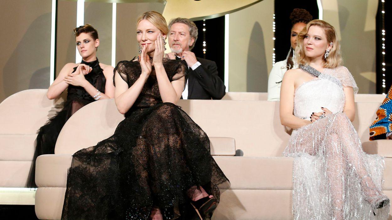 Kristen Stewart, Cate Blanchett, Léa Seydoux (fot. PAP/EPA/SEBASTIEN NOGIER)
