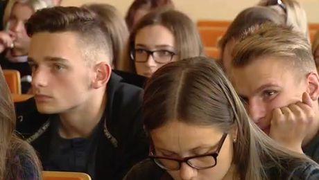 Przyszli studenci z Ukrainy, Litwy i Białorusi uczą się języka polskiego w Krakowie