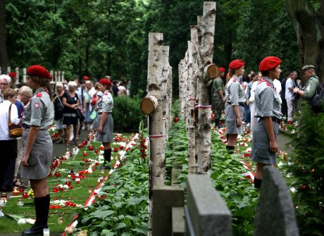 Warszawa uczciła pamięć powstańców