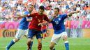 Daniele De Rossi, Cesc Fabregas i Leonardo Bonucci (fot. Getty Images)