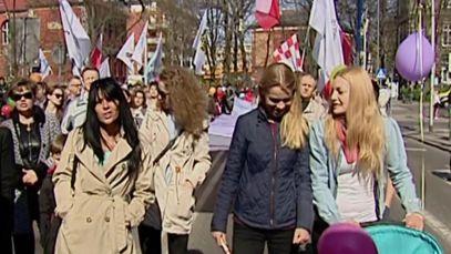 Marsz dla życia w Szczecinie