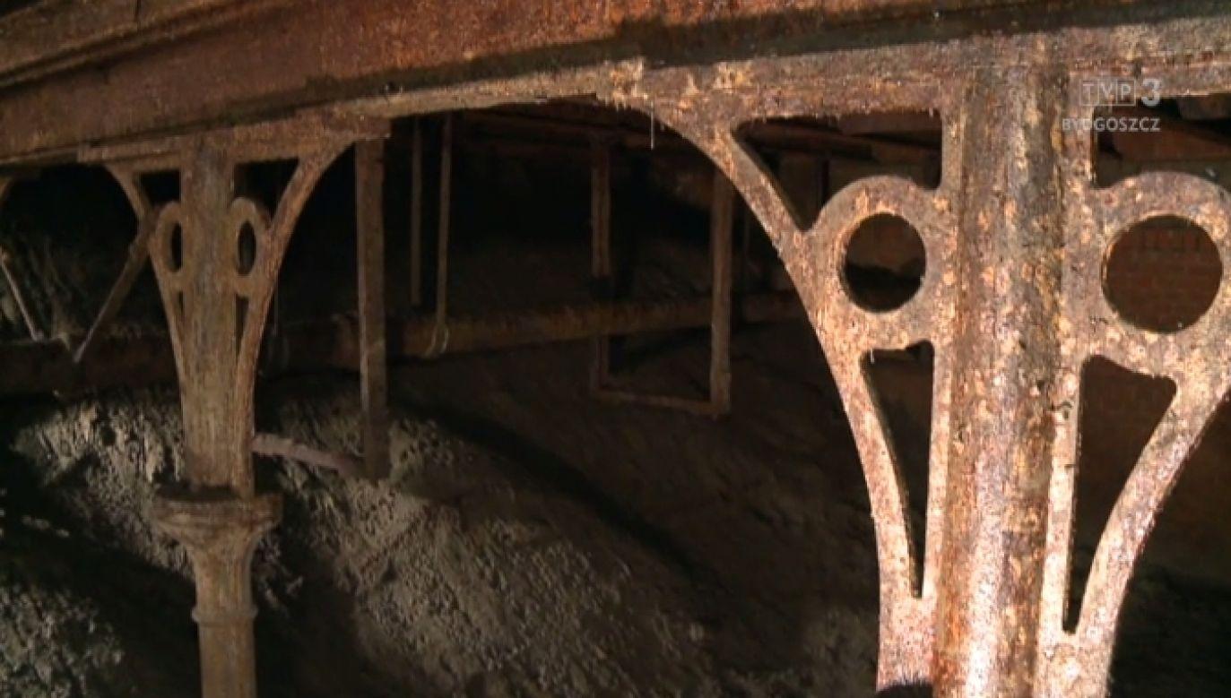 Odkryli stalowy most z XIX wieku na placu budowie na Rondzie Pokoju Toruńskiego