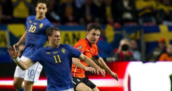 Holandia  rozgromiła Szwecję 4:1 (fot.PAP/EPA)