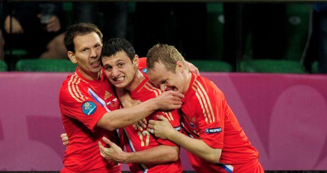 Ałan Dżagojew w 15. minucie otworzył wynik meczu z Czechami (fot. Getty Images)