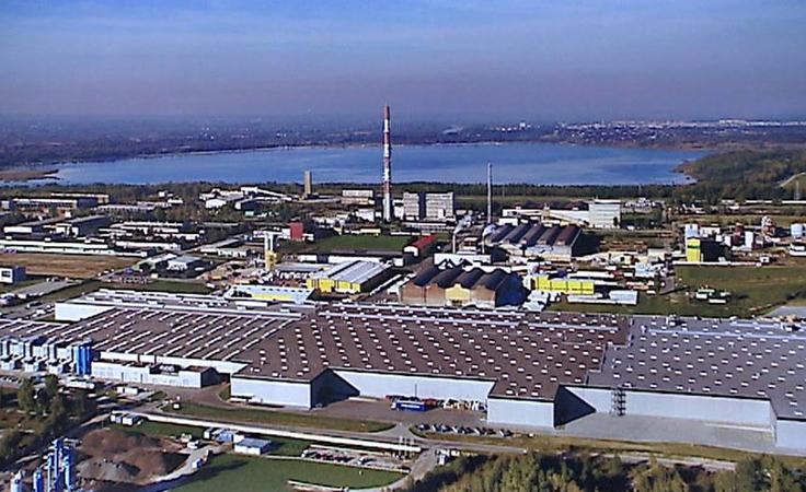 Otwarcie fabryki Pilkingtona w Chmielowie