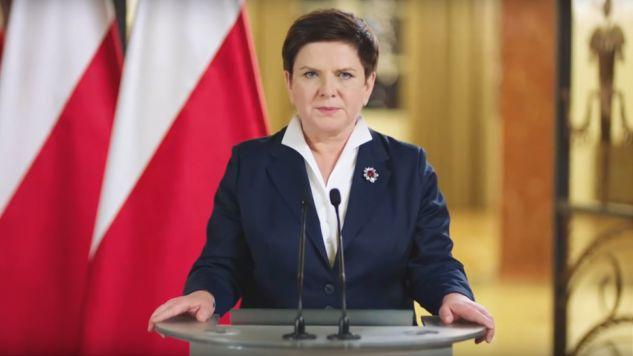 Premier Beata Szydło (fot. yt/ArtiqbForever2)
