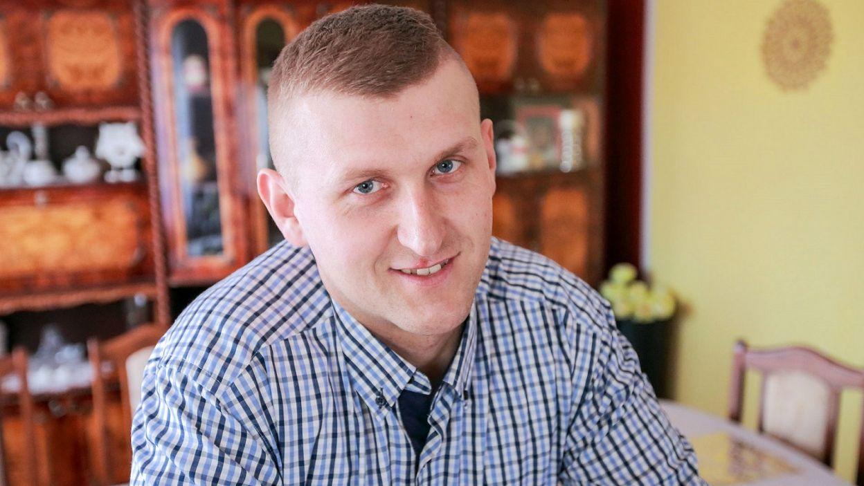 Mariusz marzy o rodzinie, ale uważa, że aby związek był udany, musi pojawić się iskra (fot. TVP)