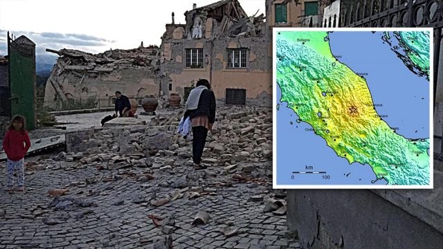 """Silne trzęsienie ziemi w środkowych Włoszech. Rośnie liczba ofiar. """"Nie ma pół miasta. Ludzie są pod gruzami"""""""