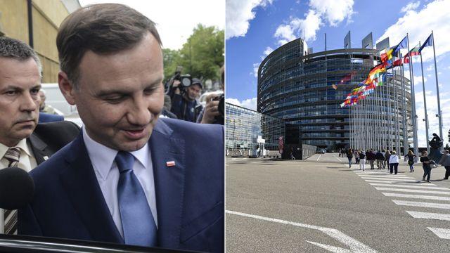 Bez odprawy i emerytury. Andrzej Duda utracił świadczenia z Parlamentu Europejskiego
