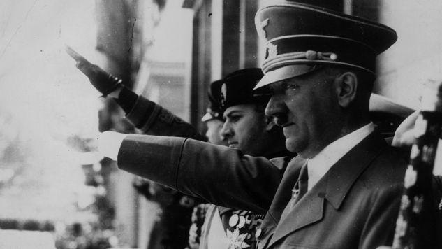 W 1944 roku Adolf Hitler nie przewidywał jeszcze tak rychłego upadku (fot. Keystone/Getty Images)