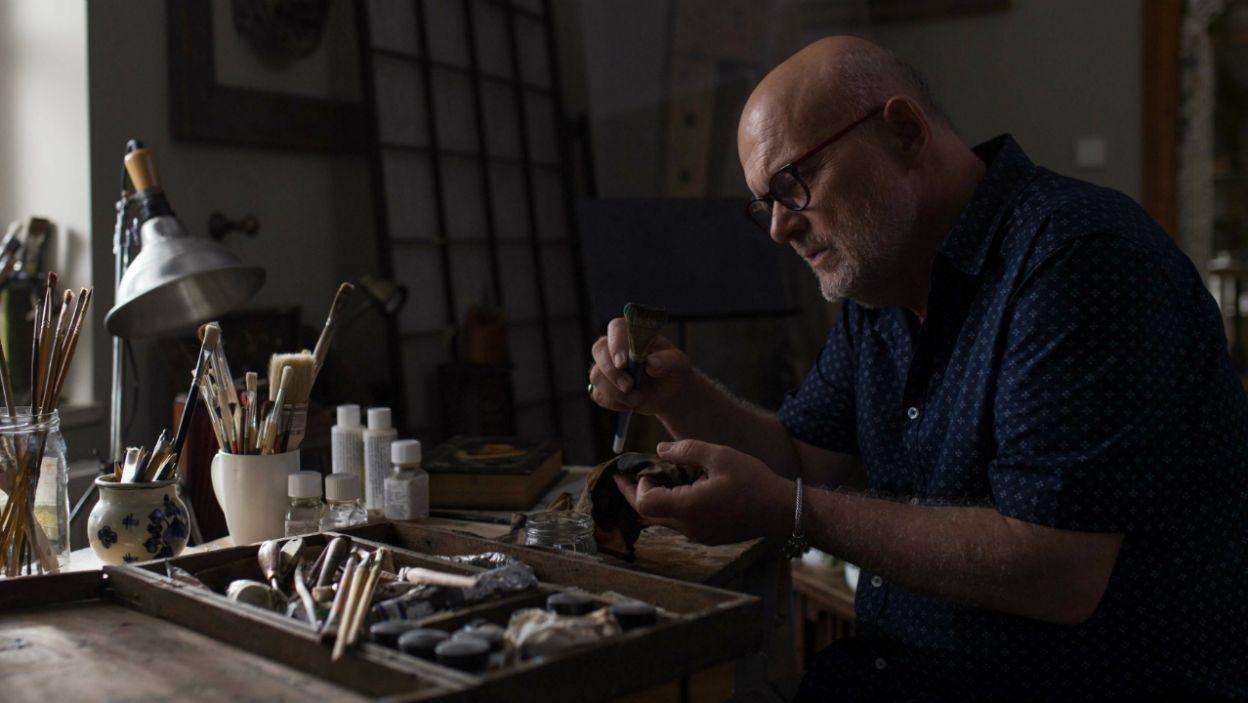 Moryc jest spadkobiercą przedwojennej kolekcji malarstwa rodziny Sharonów i genialnym fałszerzem (fot. Andrzej Świetlik)