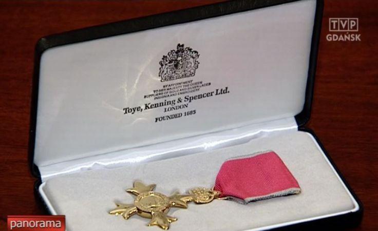 Order Imperium Brytyjskiego dla profesora Jerzego Limona