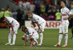 Załamani Portugalczycy (fot. Getty Images)