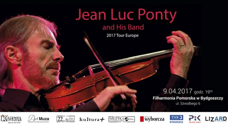 Koncert: Jean Luc Pondy and His Band