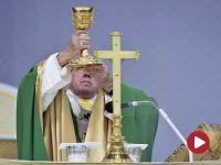 Sto tysięcy wiernych na papieskiej mszy w Kownie. Wśród nich wielu Polaków
