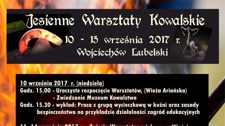 Jesienne Wrasztaty Kowalskie (plakat organizatora)
