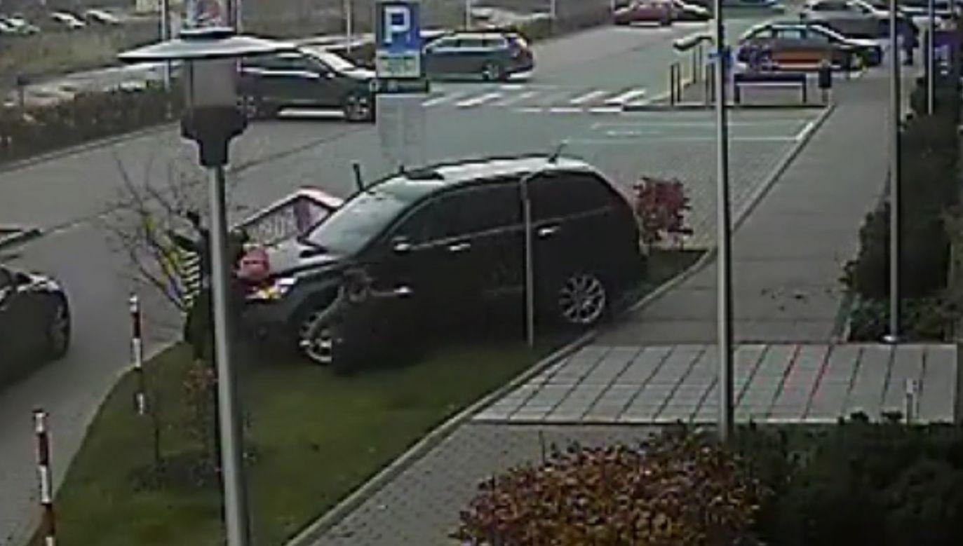 Jedna z kobiet doznała poważnego urazu nogi (fot. TVP)