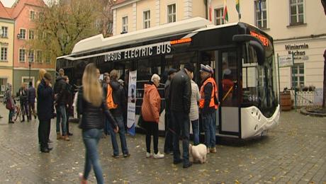 Autobusy elektryczne będą jeździły w przyszłym roku