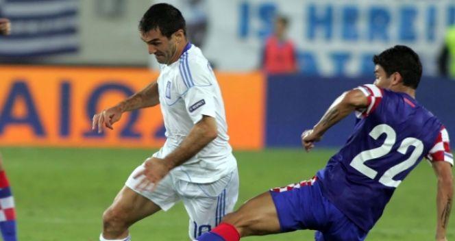 Porażka w Grecji zmusiła Chorwatów do gry w barażach (fot. Getty Images)